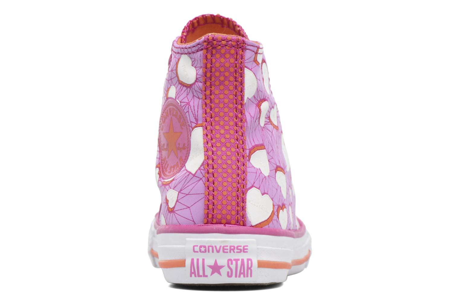 Sneakers Converse Chuck Taylor All Star Hi Paars rechts