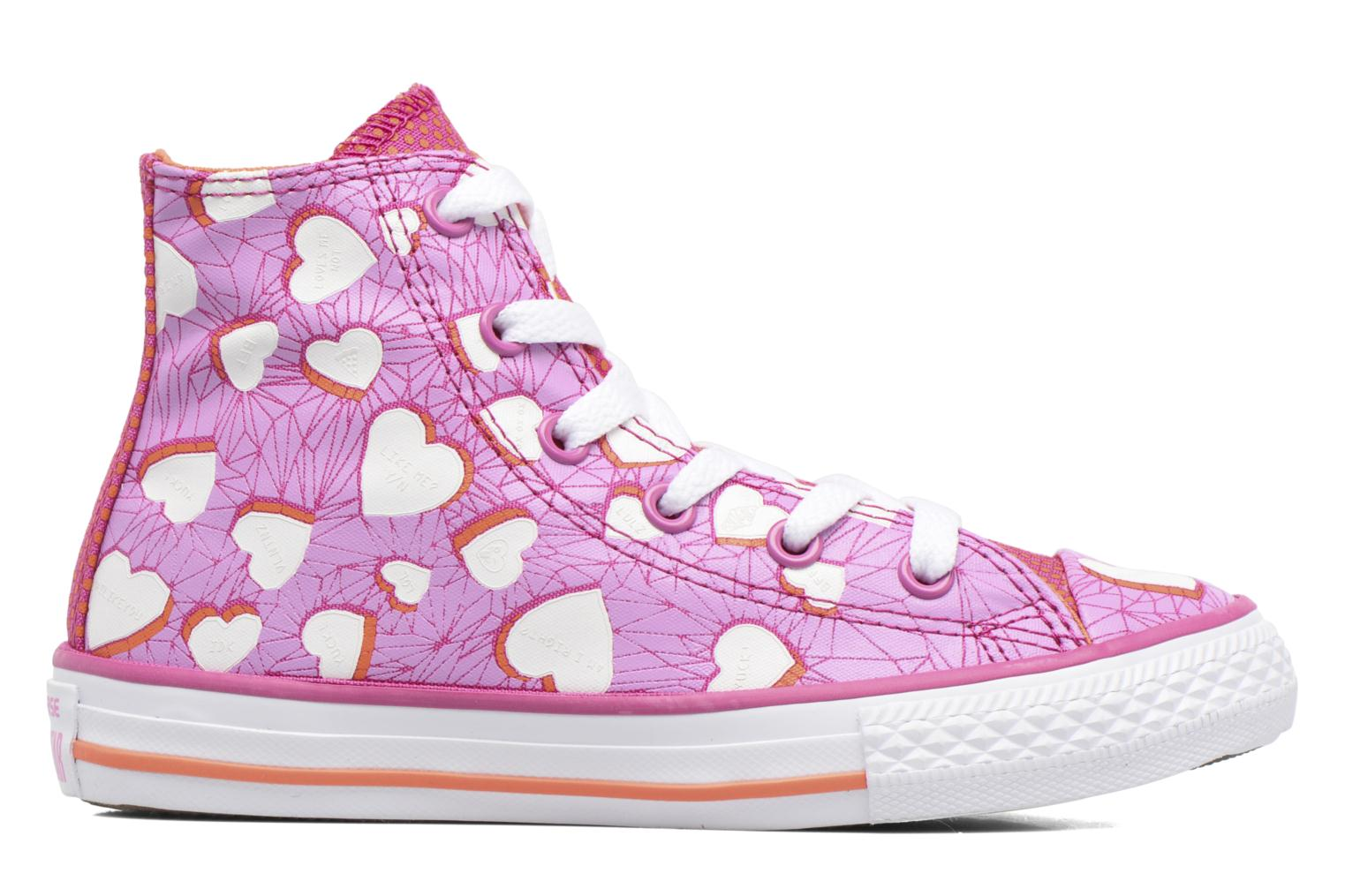 Sneakers Converse Chuck Taylor All Star Hi Paars achterkant
