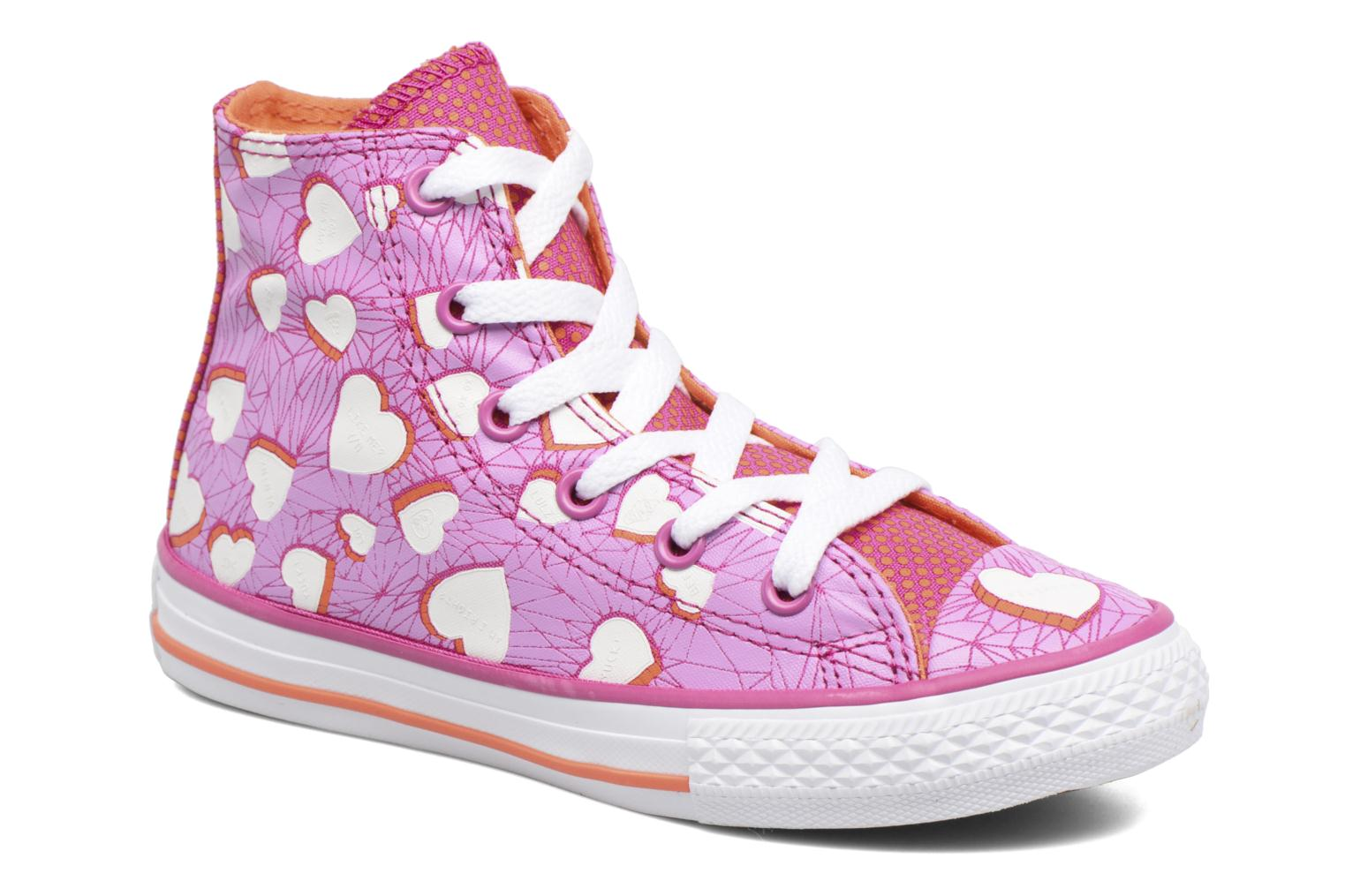 Sneakers Converse Chuck Taylor All Star Hi Paars detail