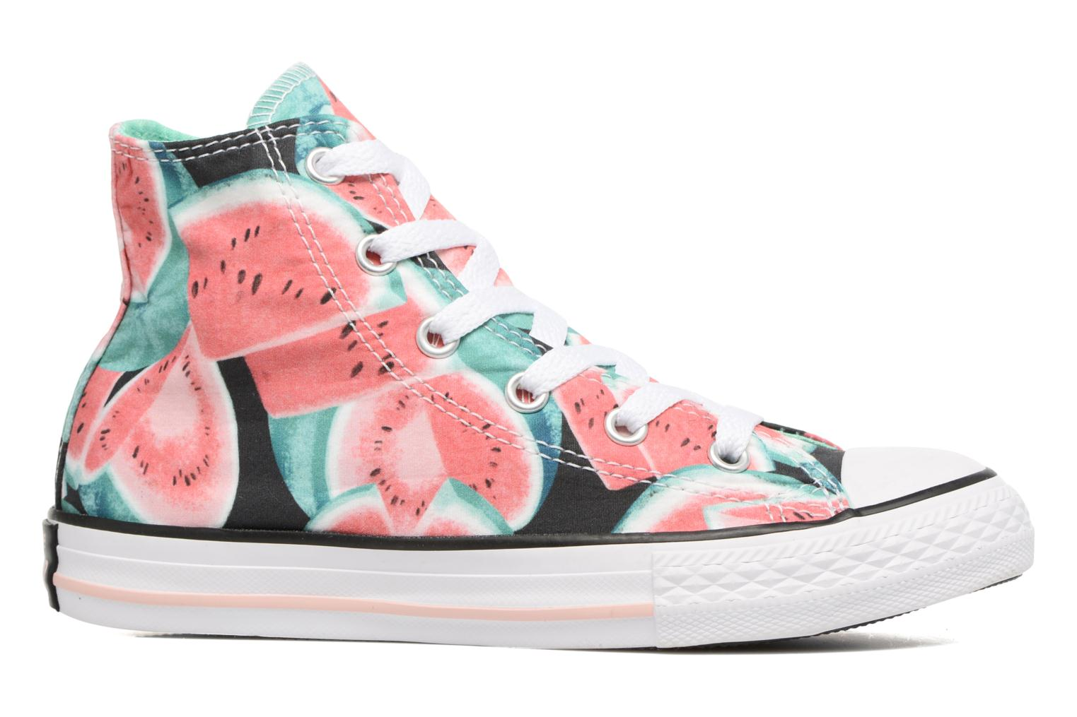Chuck Taylor All Star Hi Vapor Pink/Green Glow/White