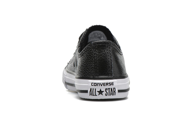 Baskets Converse Chuck Taylor All Star Ox Noir vue droite