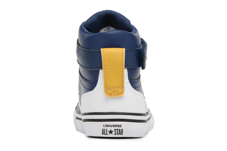 Pro Blaze Strap Stretch Hi Sport Leather Navy/White/Mineral Yellow