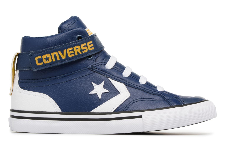Sneakers Converse Pro Blaze Strap Stretch Hi Sport Leather Azzurro immagine posteriore