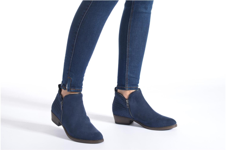 Bottines et boots I Love Shoes Tharte Noir vue bas / vue portée sac