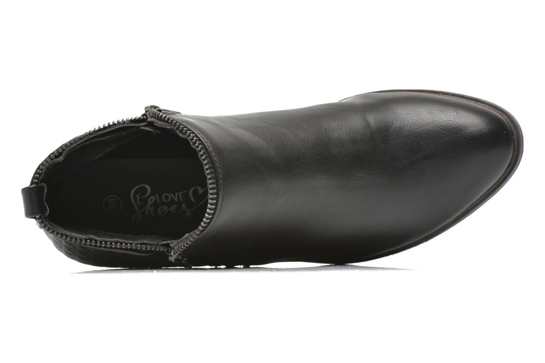 Bottines et boots I Love Shoes Tharte Noir vue gauche