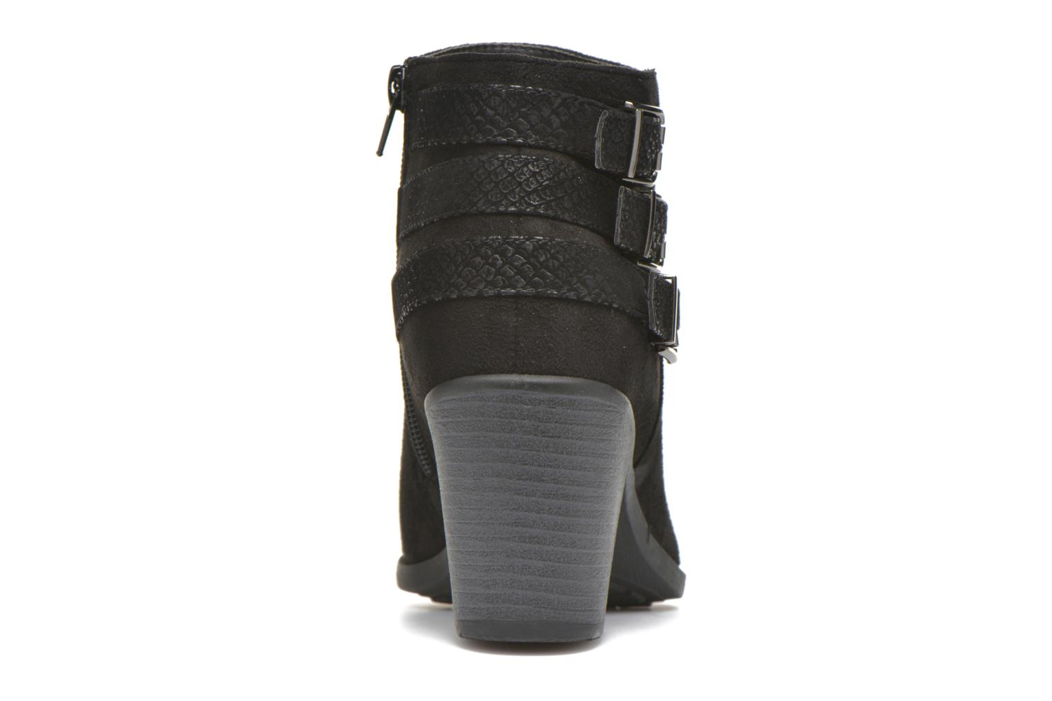 Ankle boots I Love Shoes THEVIRE Black view from the right