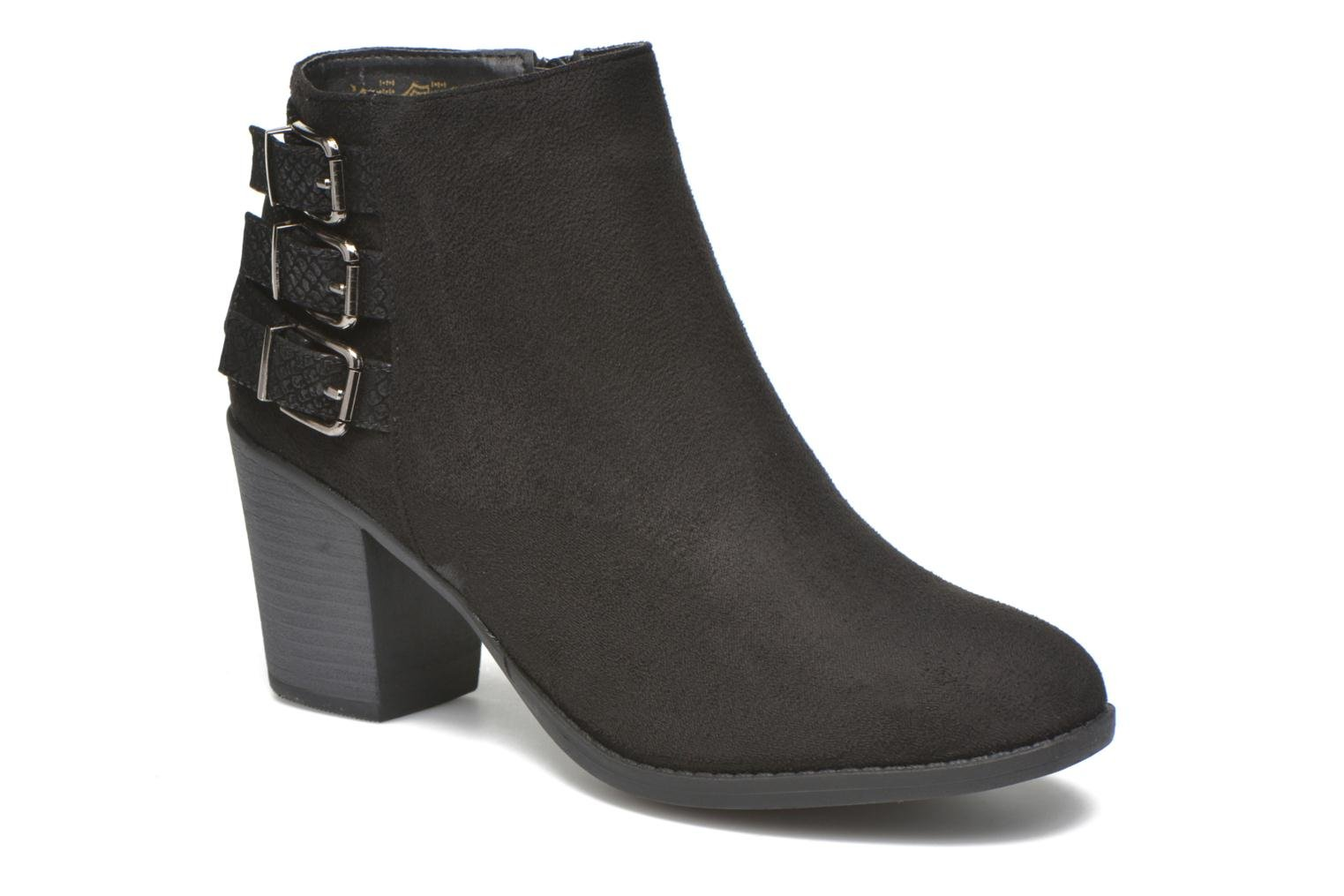 Ankle boots I Love Shoes THEVIRE Black detailed view/ Pair view