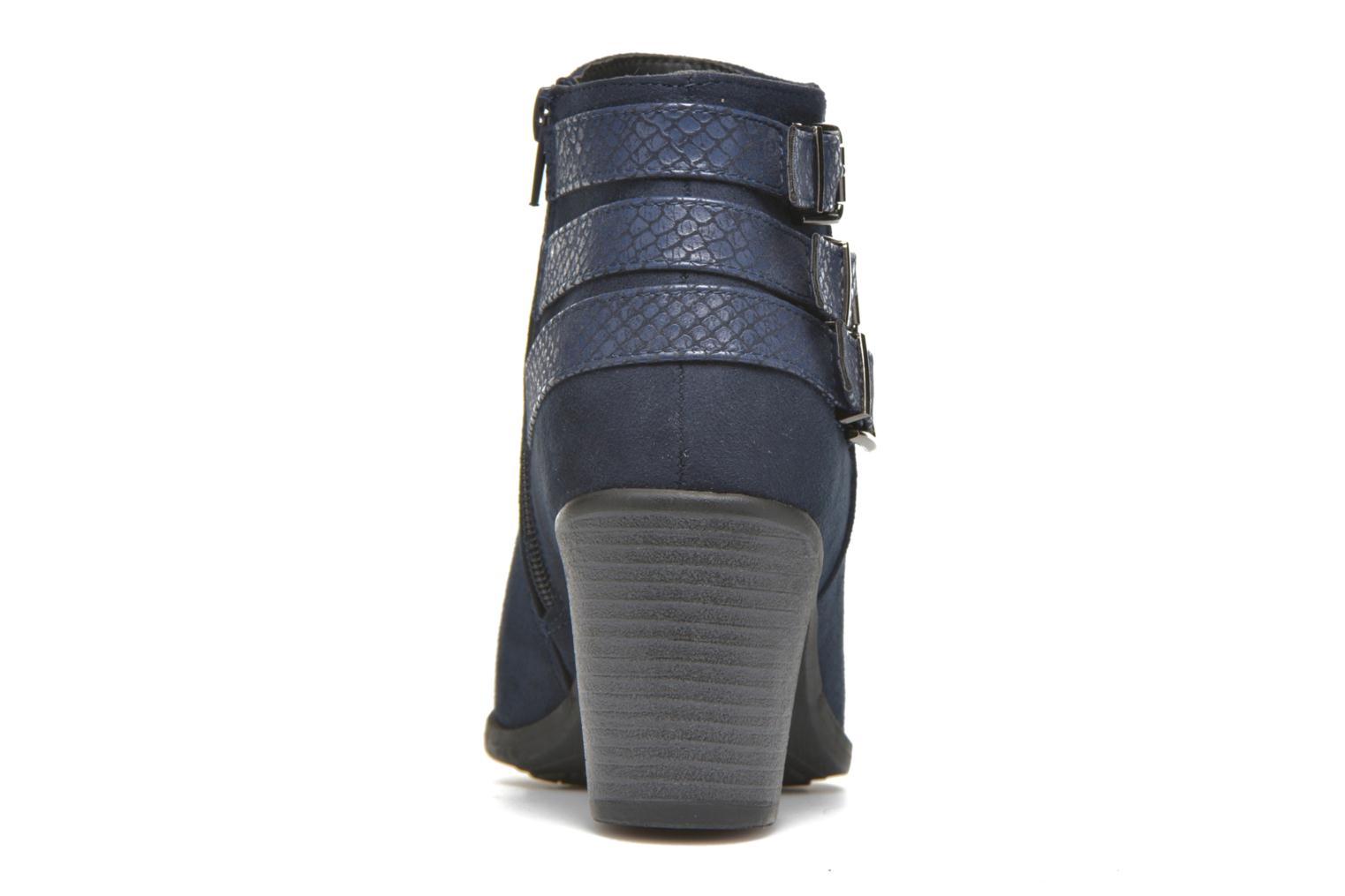 Ankle boots I Love Shoes THEVIRE Blue view from the right