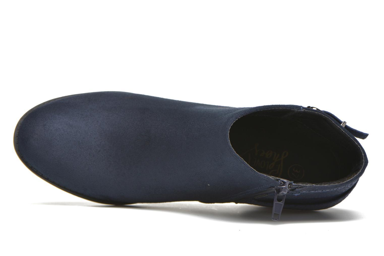 Bottines et boots I Love Shoes THEVIRE Bleu vue gauche