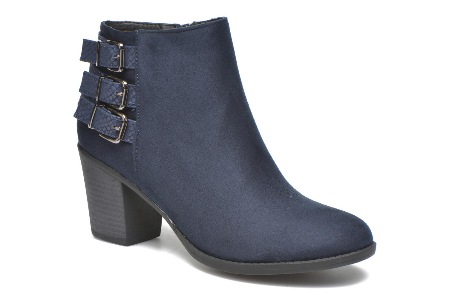 Ankle boots I Love Shoes THEVIRE Blue detailed view/ Pair view