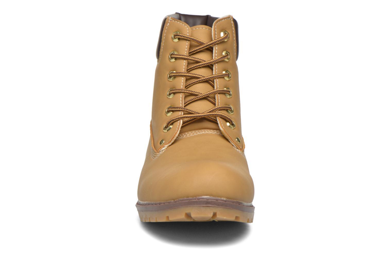 Stiefeletten & Boots I Love Shoes THEFOREST beige schuhe getragen