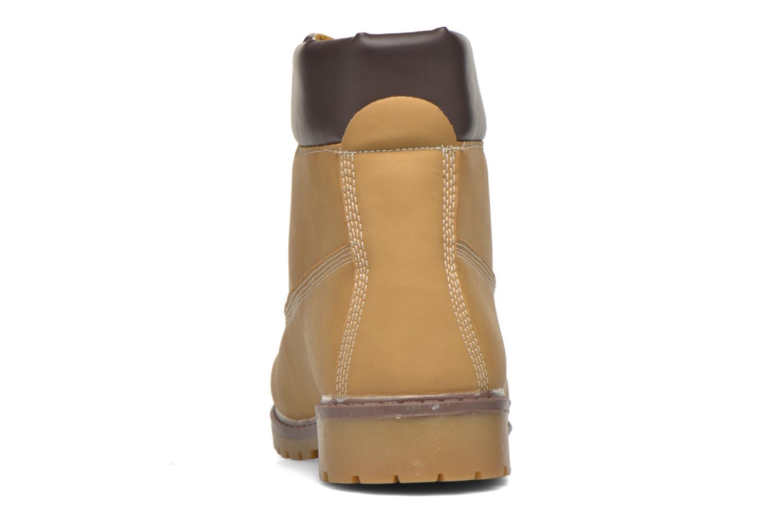 Bottines et boots I Love Shoes THEFOREST Beige vue droite
