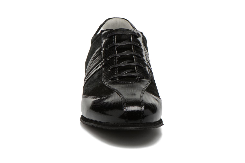 Maurice by Lagerfeld Black Daim Vernis 90