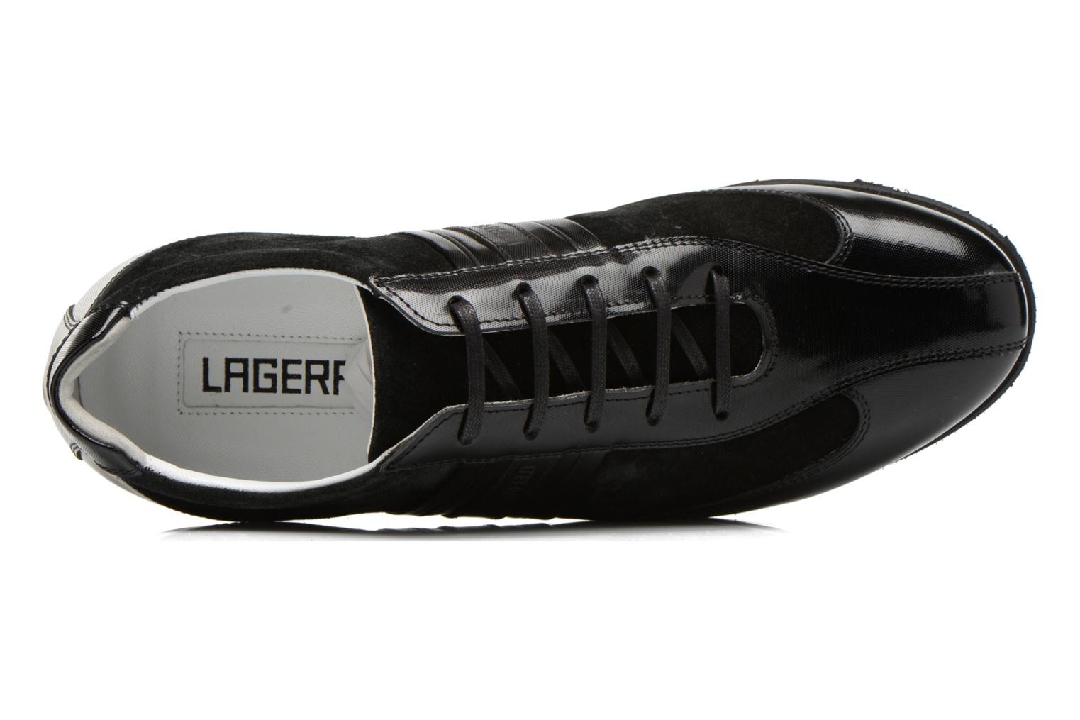 Trainers Lagerfeld Maurice by Lagerfeld Black view from the left