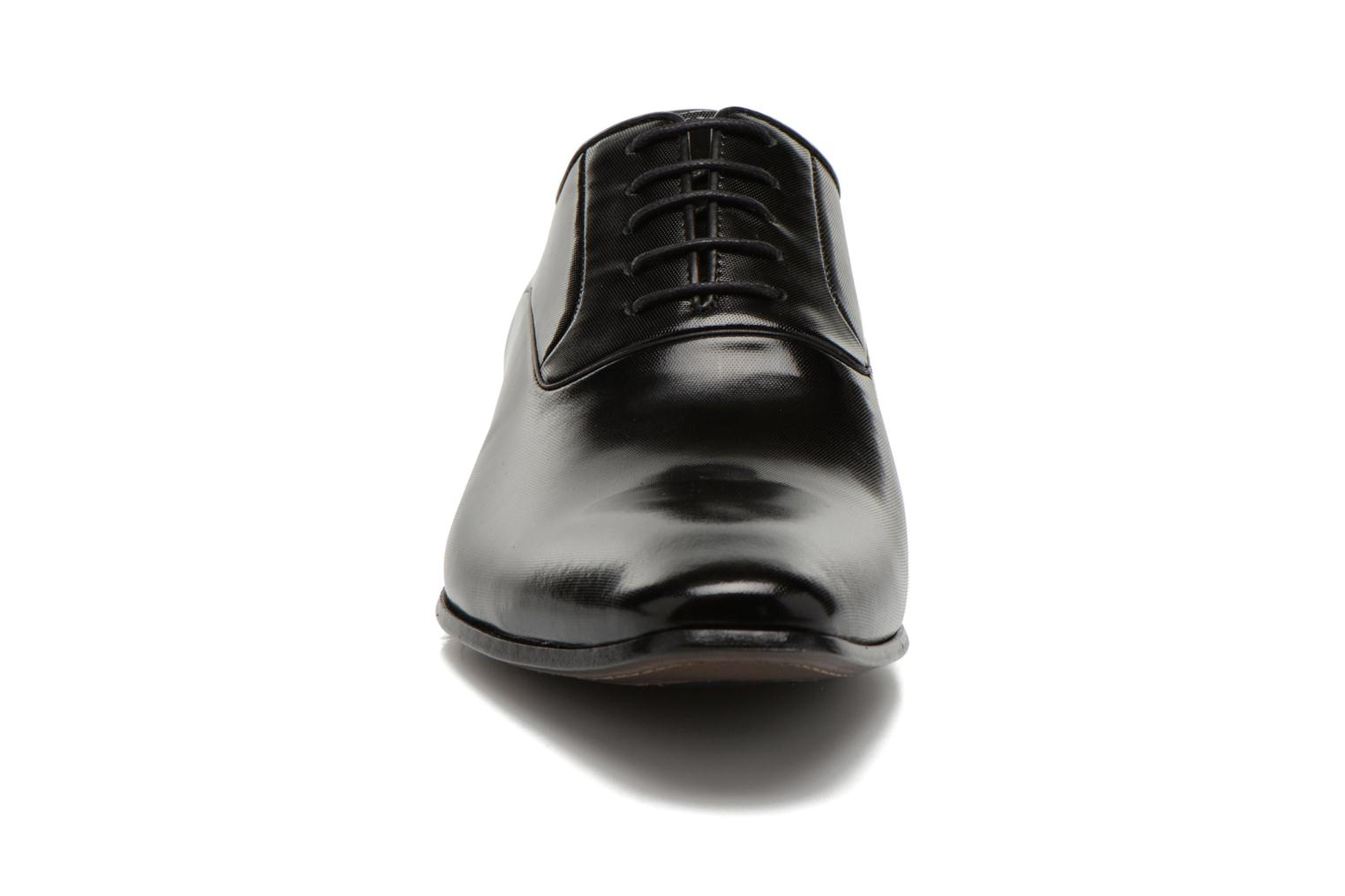 Lace-up shoes Lagerfeld Joanne by Lagerfeld Black model view