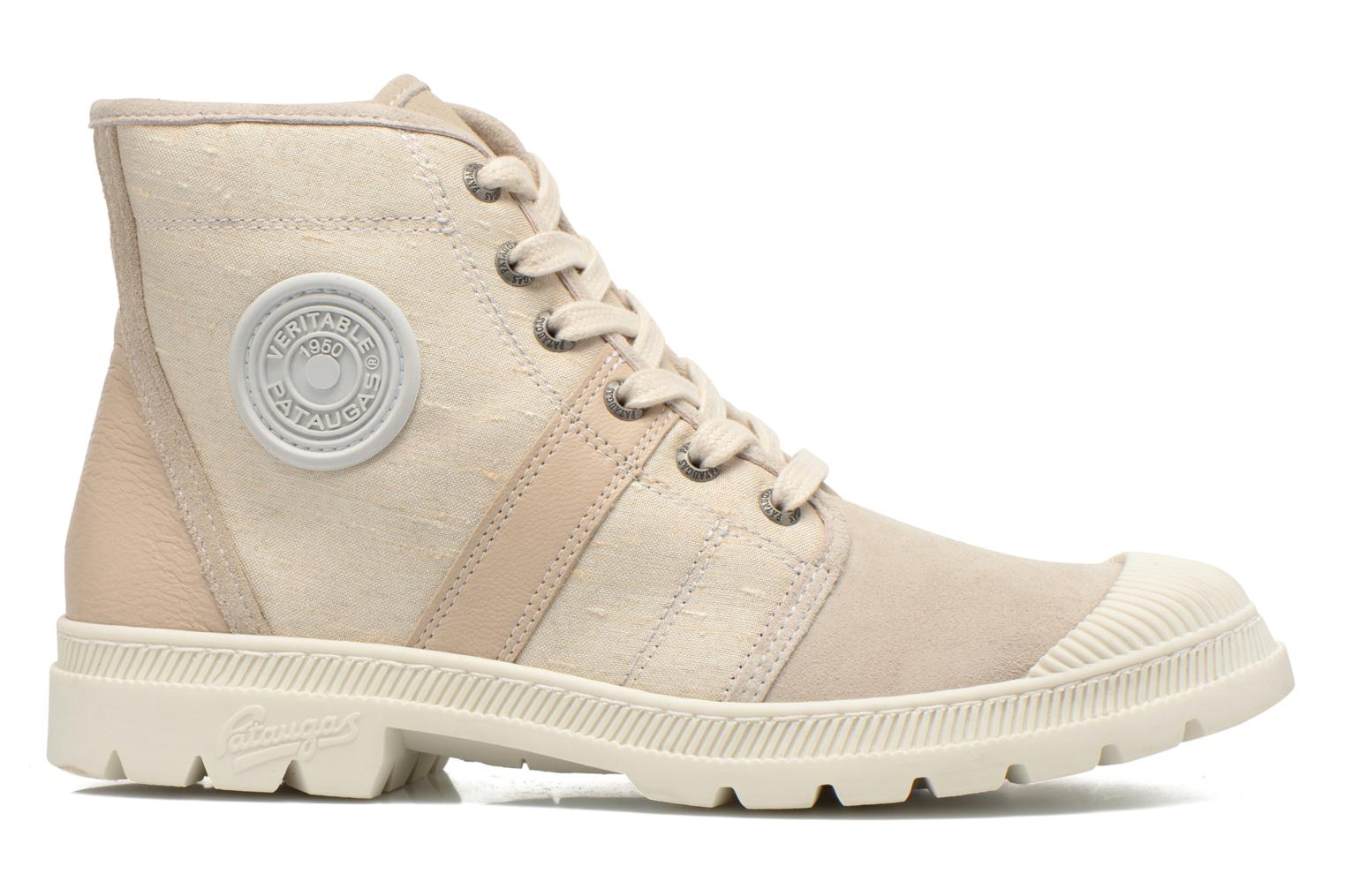 Trainers Pataugas Auth P Beige back view