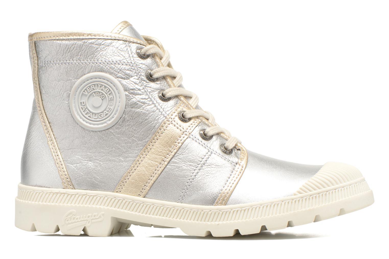 Sneaker Pataugas Auth/MC silber ansicht von hinten