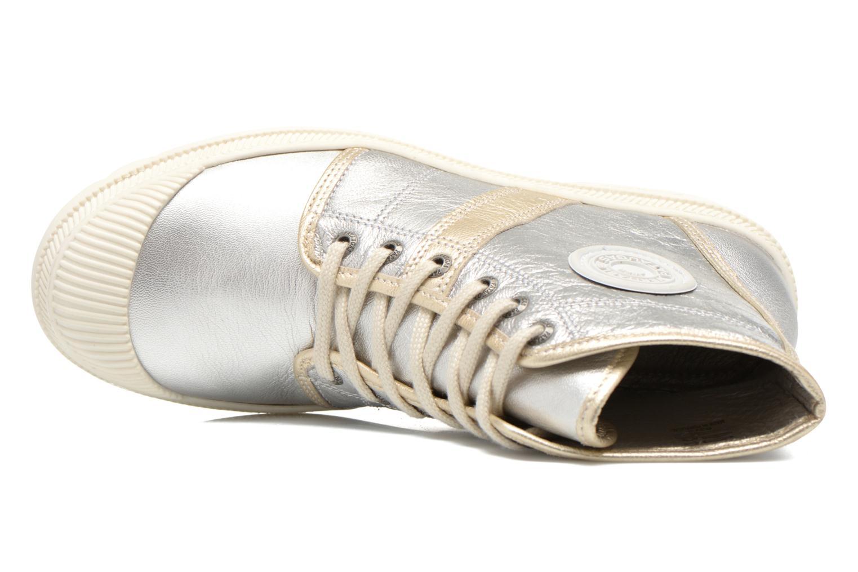 Sneaker Pataugas Auth/MC silber ansicht von links