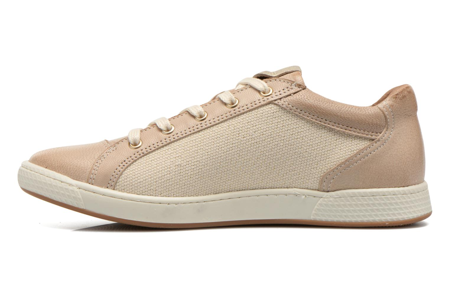 Trainers Pataugas Joxxo Beige front view