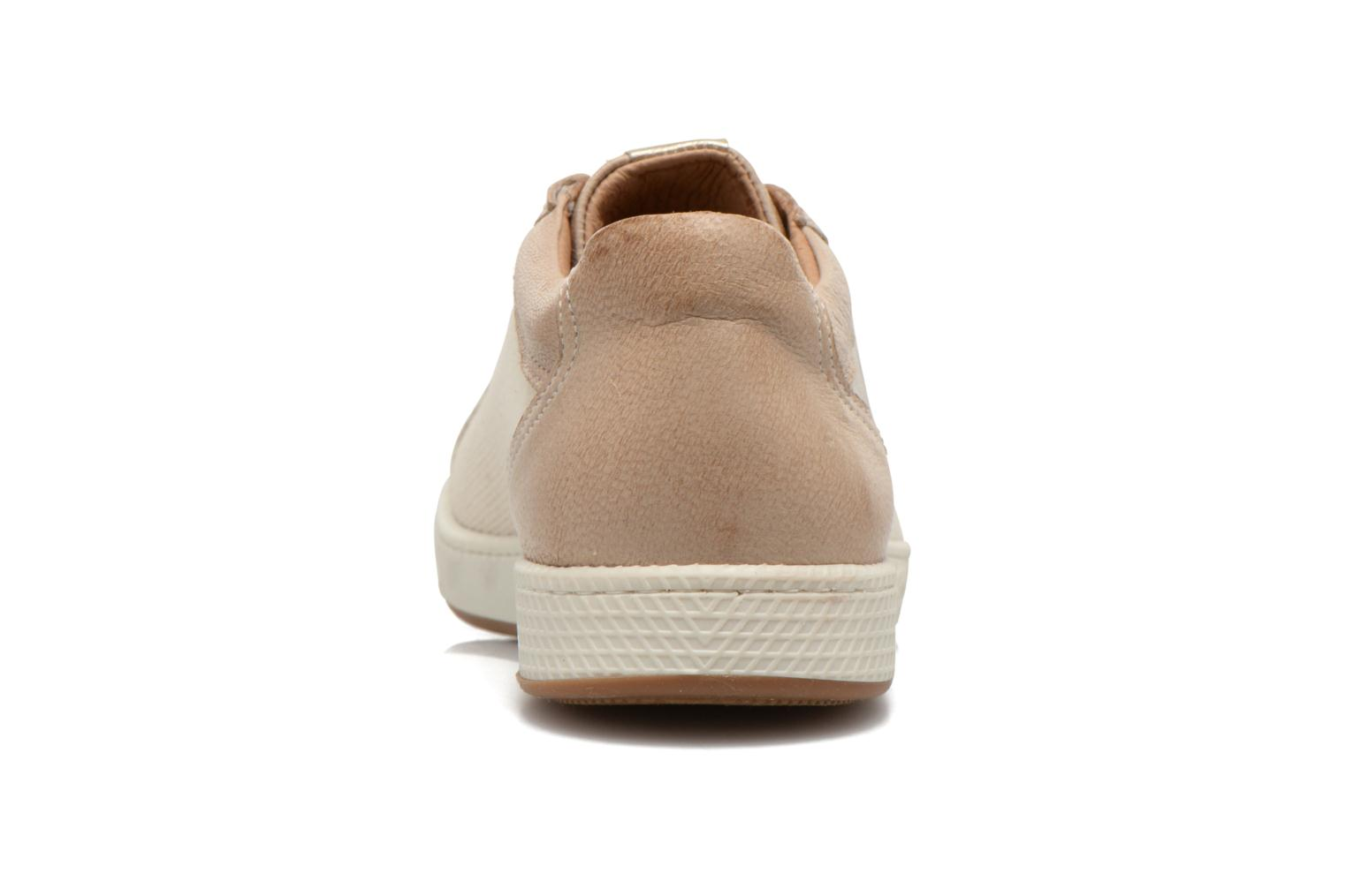 Trainers Pataugas Joxxo Beige view from the right