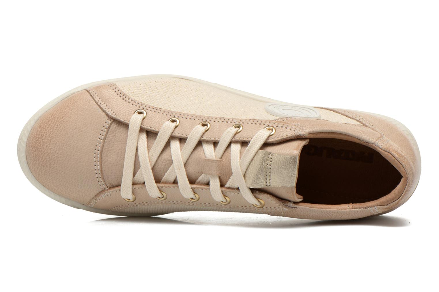 Trainers Pataugas Joxxo Beige view from the left