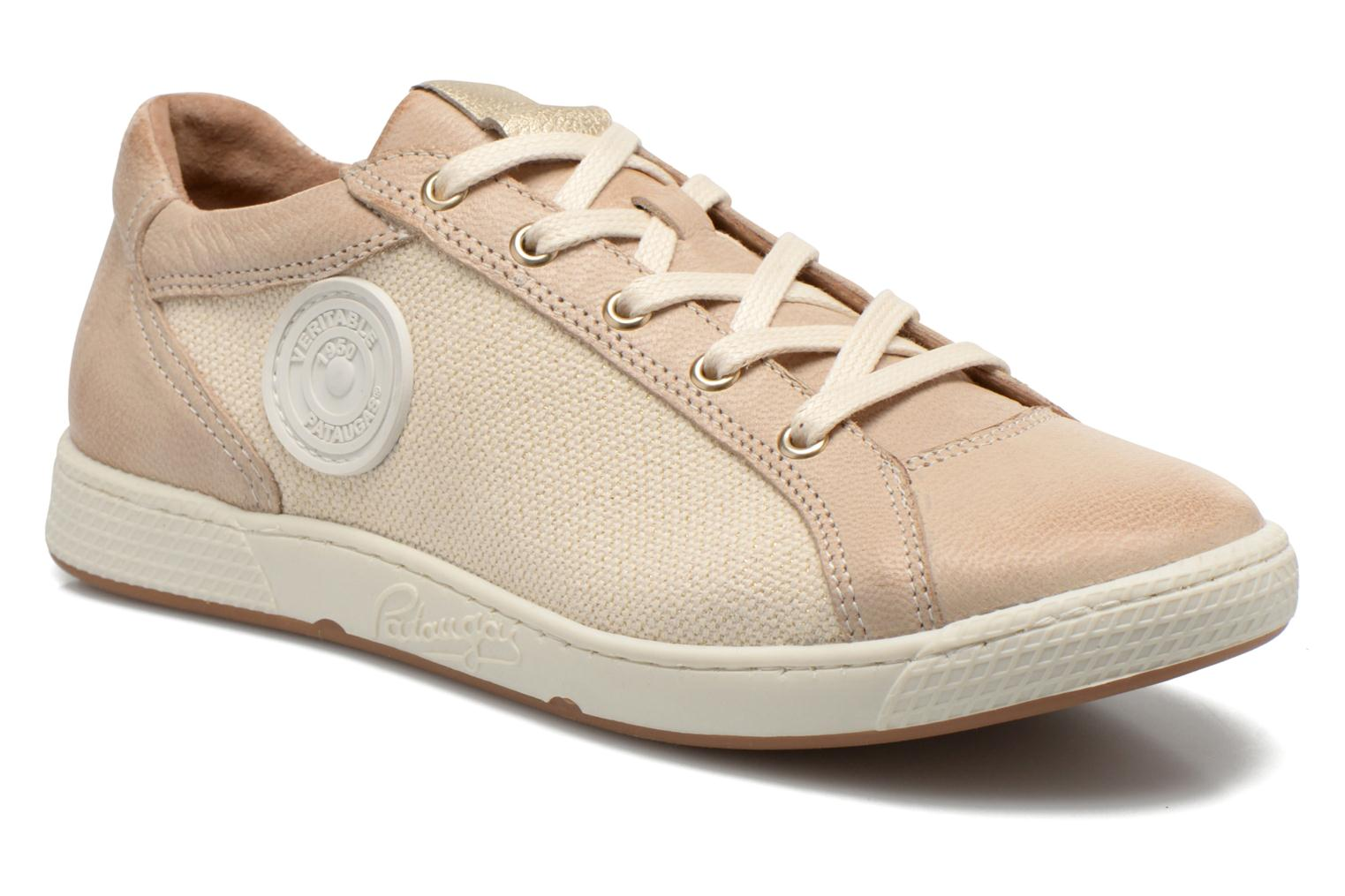 Trainers Pataugas Joxxo Beige detailed view/ Pair view
