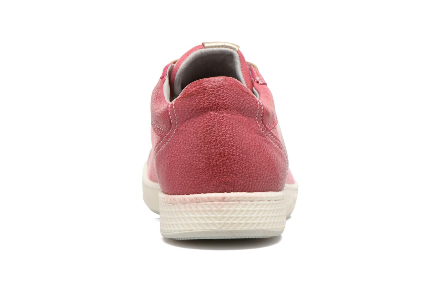 Trainers Pataugas Joxxo Pink view from the right