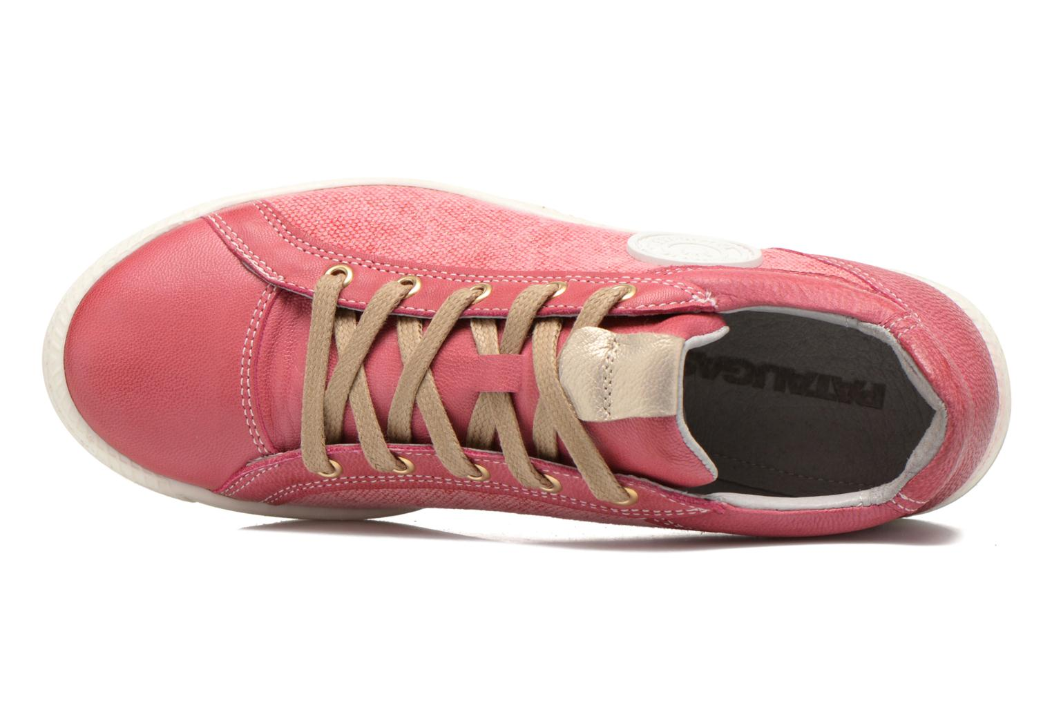 Trainers Pataugas Joxxo Pink view from the left