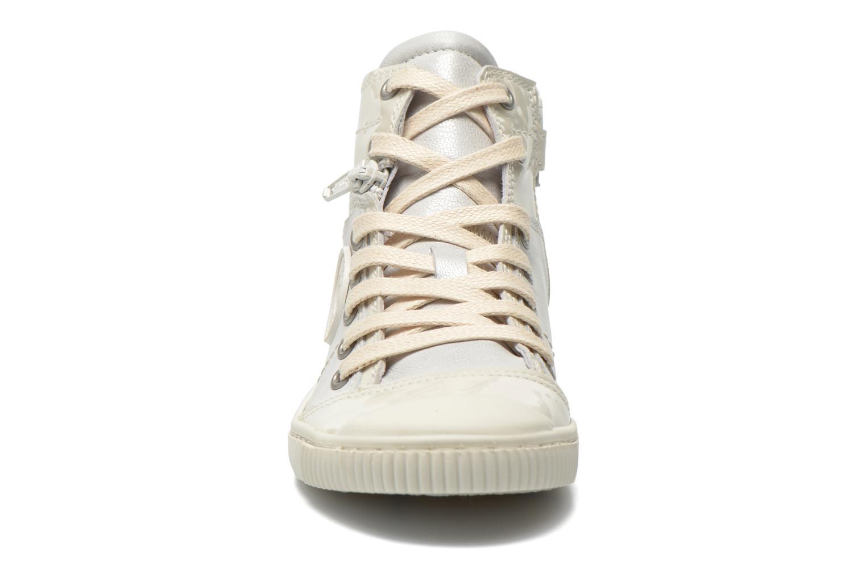 Baskets Pataugas Banjou J Blanc vue portées chaussures