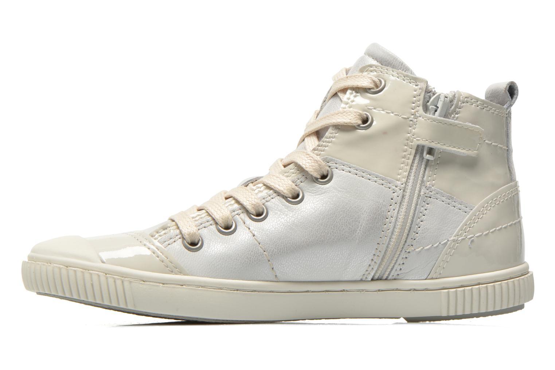 Sneaker Pataugas Banjou J weiß ansicht von vorne