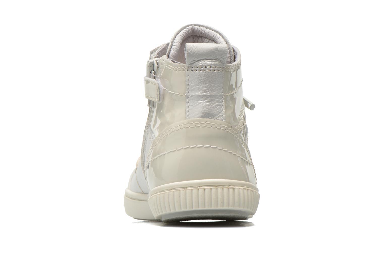 Sneaker Pataugas Banjou J weiß ansicht von rechts