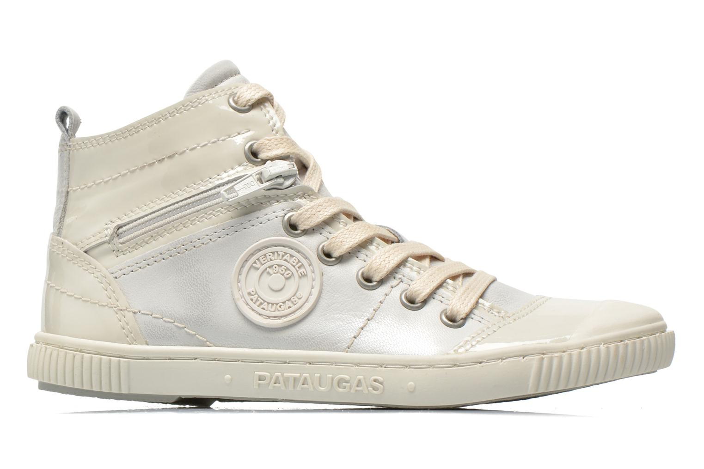 Sneaker Pataugas Banjou J weiß ansicht von hinten