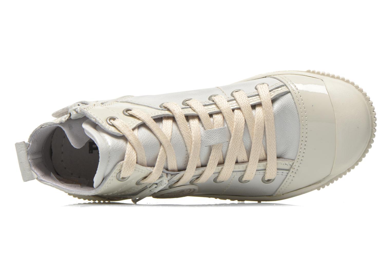 Sneaker Pataugas Banjou J weiß ansicht von links