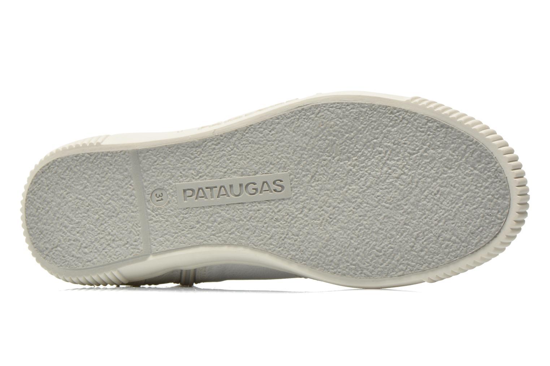 Sneaker Pataugas Banjou J weiß ansicht von oben