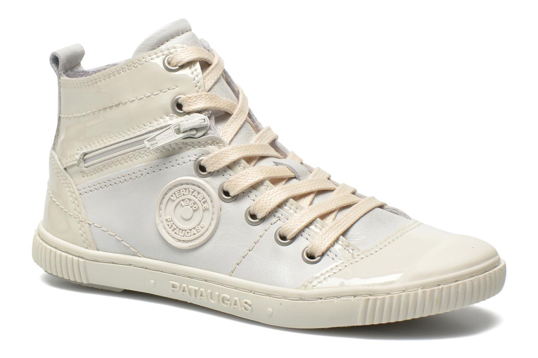 Sneaker Pataugas Banjou J weiß detaillierte ansicht/modell
