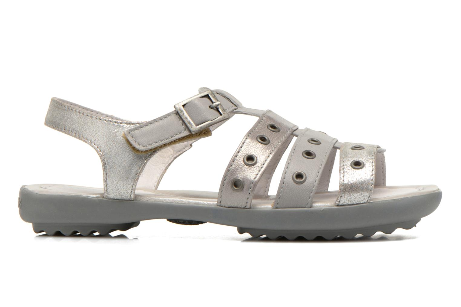 Sandals Pataugas Cello Silver back view