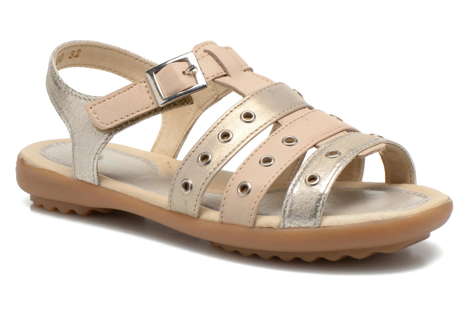 Sandals Pataugas Cello Silver detailed view/ Pair view