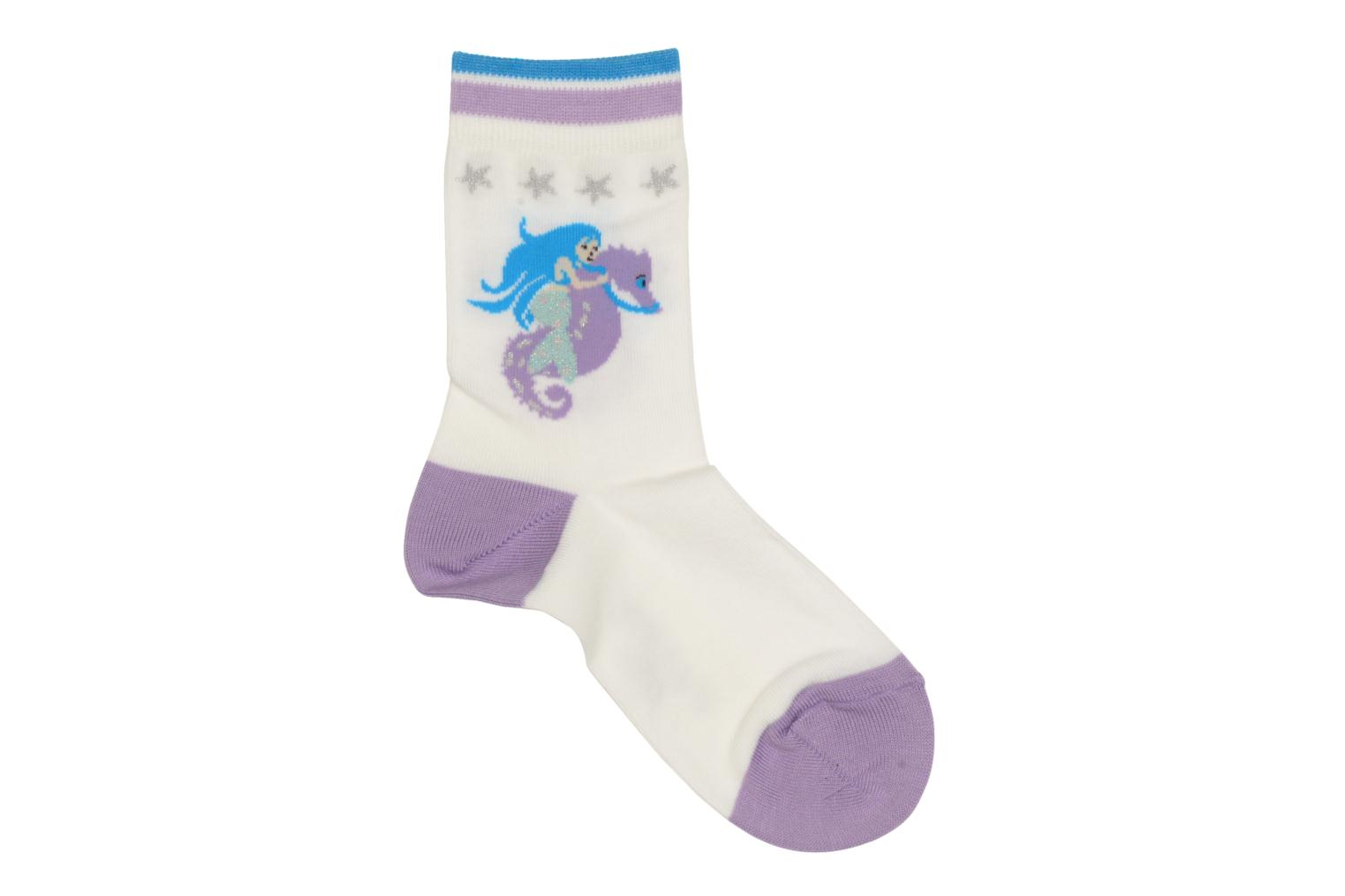 Socks & tights Falke Socquettes Enfant Coton Mermaid SO White detailed view/ Pair view