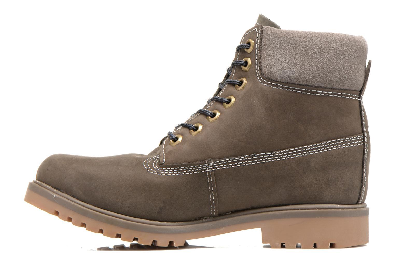 Bottines et boots Coolway Basilman Gris vue face