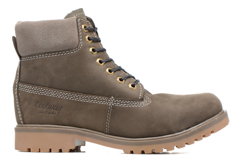 Bottines et boots Coolway Basilman Gris vue derrière