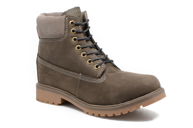 Bottines et boots Coolway Basilman Gris vue détail/paire