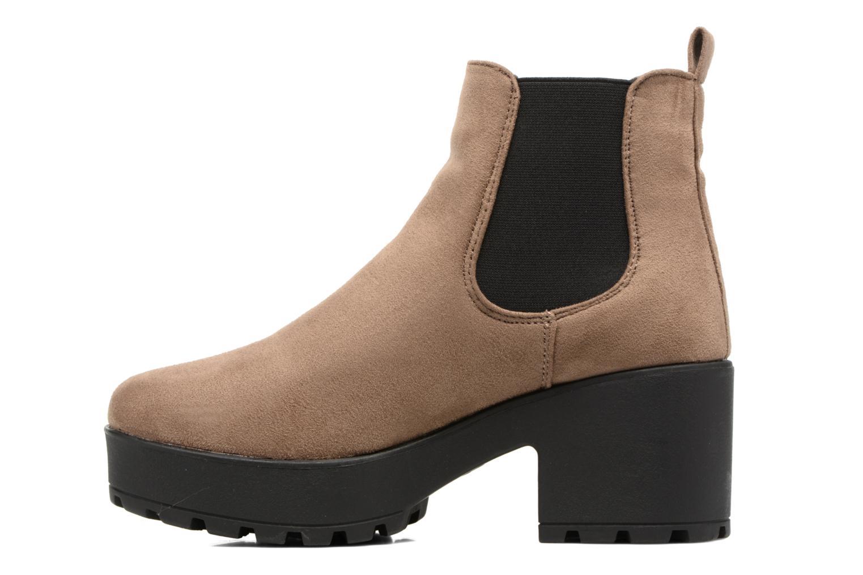 Boots en enkellaarsjes Coolway Irby Beige voorkant