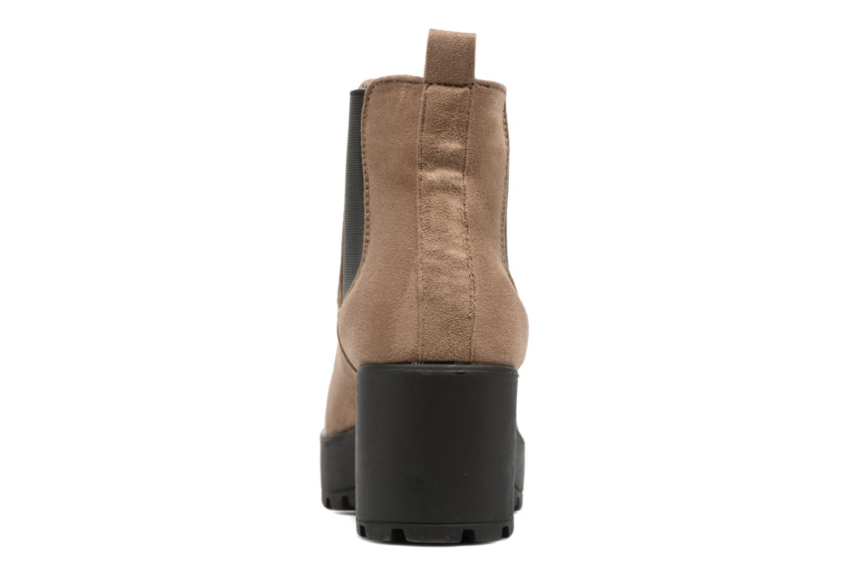 Boots en enkellaarsjes Coolway Irby Beige rechts