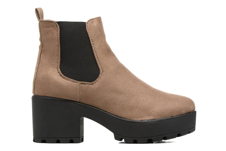 Boots en enkellaarsjes Coolway Irby Beige achterkant