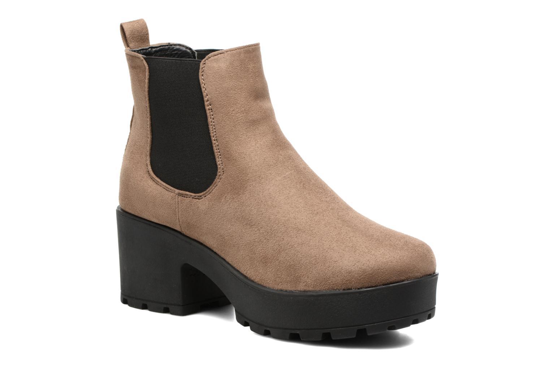 Boots en enkellaarsjes Coolway Irby Beige detail