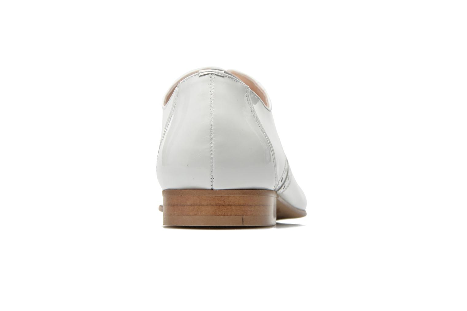 Lace-up shoes Minelli F61 430/VER White view from the right
