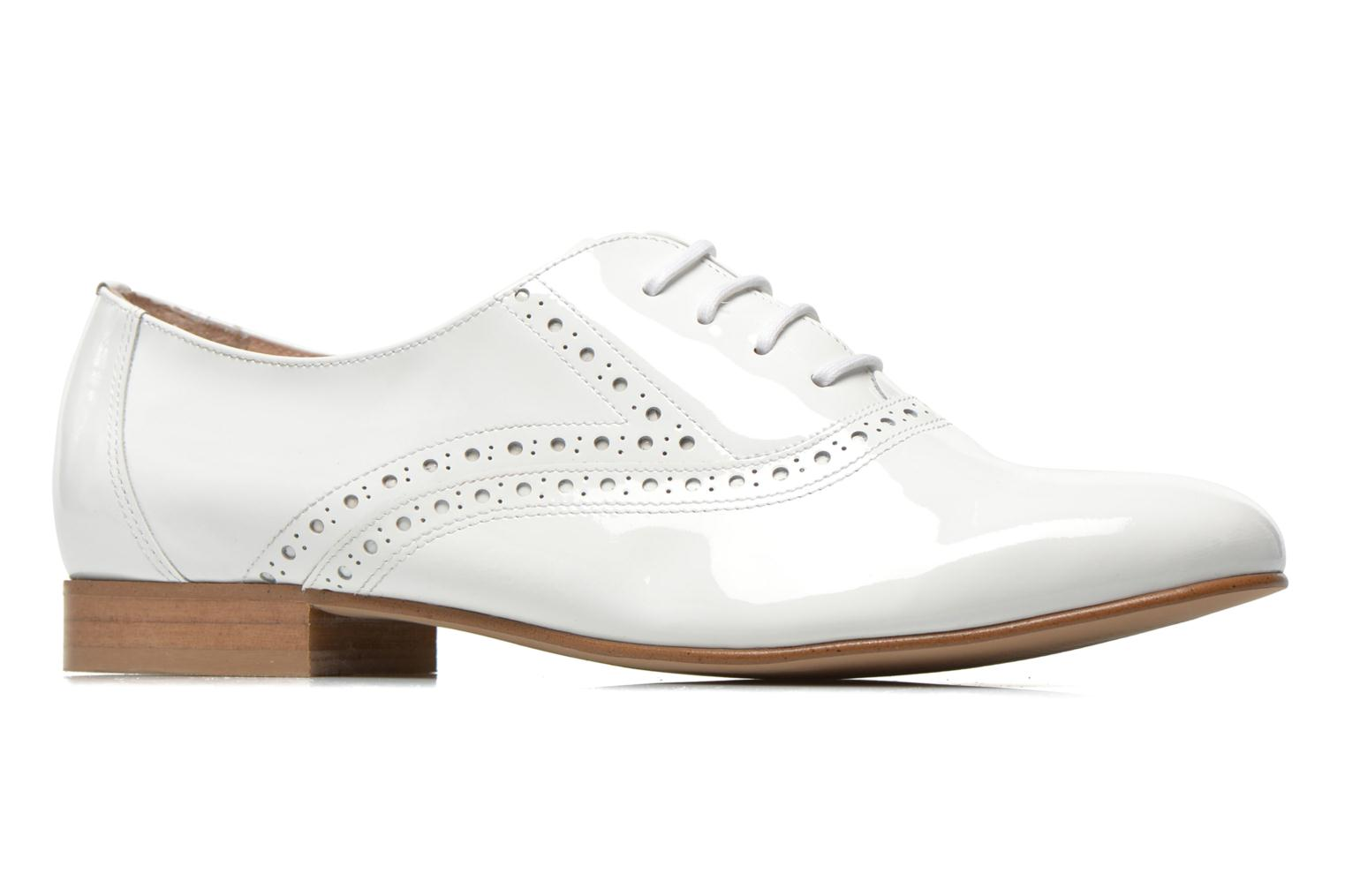 Lace-up shoes Minelli F61 430/VER White back view
