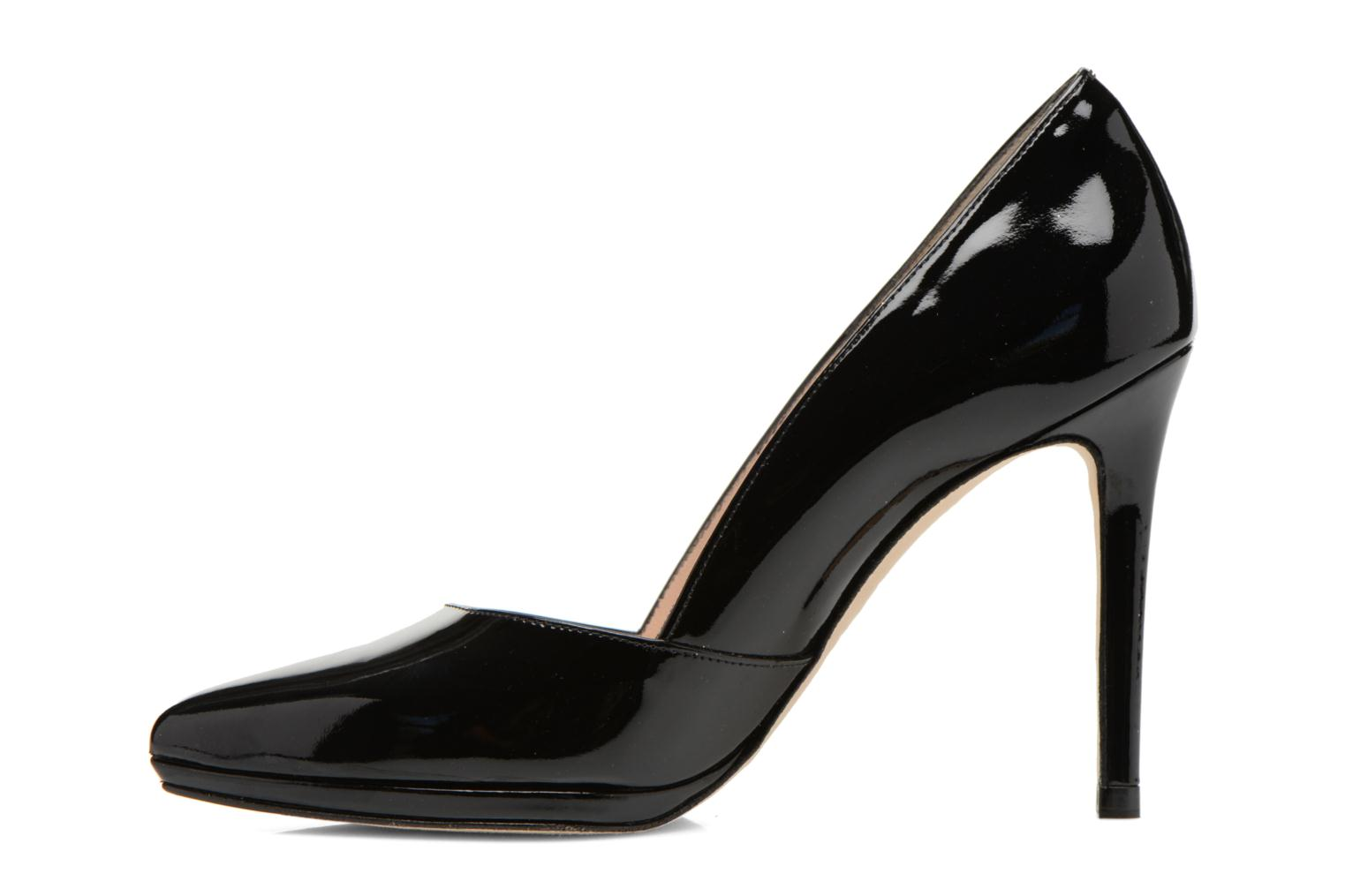 High heels Minelli F91 610/VER Black front view