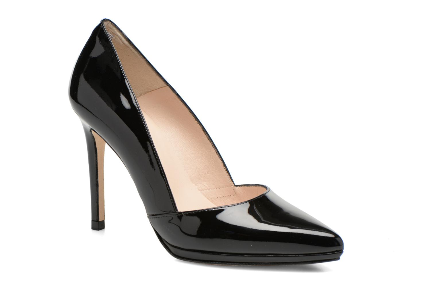 High heels Minelli F91 610/VER Black detailed view/ Pair view
