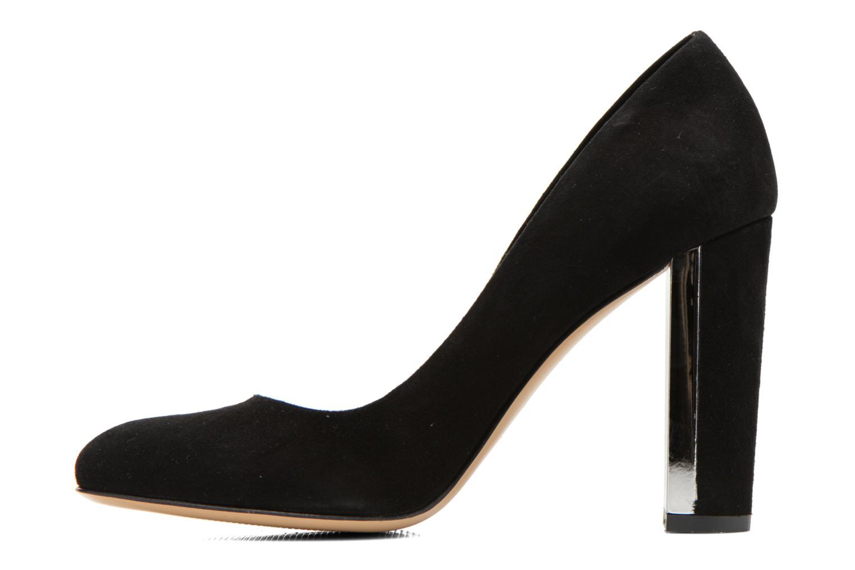High heels Minelli F91 730/VEL Black front view
